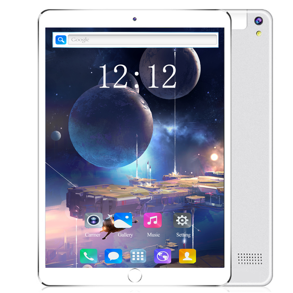 2020 8 Core Newest 10.1 Inch 3G 4G Lte Tablet PC Ocat Core 6GB RAM 128GB ROM Dual SIM Card Android 8.0 IPS Tablet PC 8MP Tablets