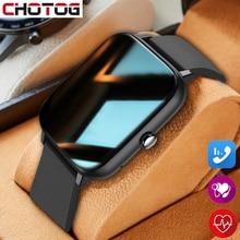 2021 Bluetooth zadzwoń inteligentny zegarek sportowy 1.54 Cal duży ekran dostosuj tapety Smartwatch mężczyźni kobiety pulsometr zegarki