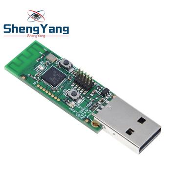 Bezprzewodowy moduł Zigbee CC2531 Sniffer moduł analizatora protokołów Packet moduł interfejsu USB moduł przechwytywania Dongle tanie i dobre opinie CN (pochodzenie) Nowy Electronic products Komputer -40-+85 DIY KIT For Arduino STM