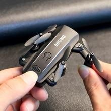 Дрон Радиоуправляемый квадрокоптер мини Дрон камера HD 1080P Wifi FPV Дрон складной высота удержания RC вертолет селфи дроны профессиональная игрушка