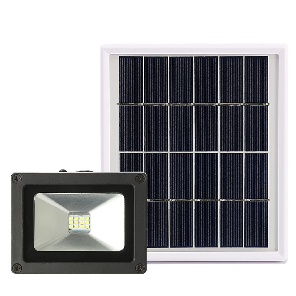 3W 6W 12/54/120 LEDs Split Type PIR Motion Sensor Remote Control Solar Panel Power Outdoor Indoor Home LED Ceiling Light Lamp