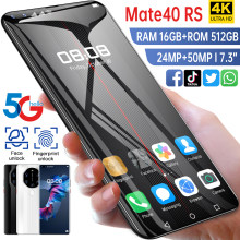 Global Version Mate40 RS 7.3Inch Smartphone 10 Core 6800mAh 16+512GB Supports Intelligent Wake-up Face ID 4G5G Network Cellphone
