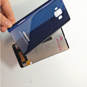 Image 5 - Orijinal LCD VKworld S8 5.99 dokunmatik LCD ekran ekran + arka kapak pil konut Digitizer meclisi yedek aksesuarlar