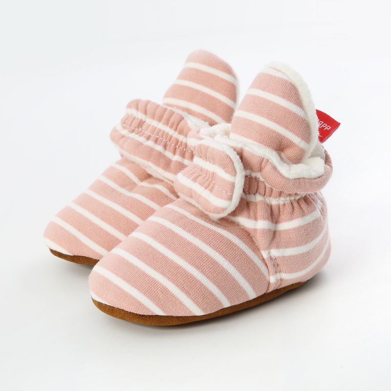 Newborn Baby Shoes Winter Boots Boy Girl Shoes Child Star First Walkers Slipper Cotton Comfort Soft Anti-slip Warm Crib Infant S