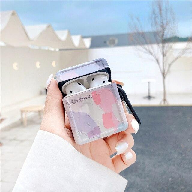 Фото мягкий силиконовый чехол для apple airpods наушников pro s для