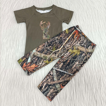 toddler boy clothes with short sleeve new arrival boy camo outfit baby boy t-shirt and pants 2 pieces set