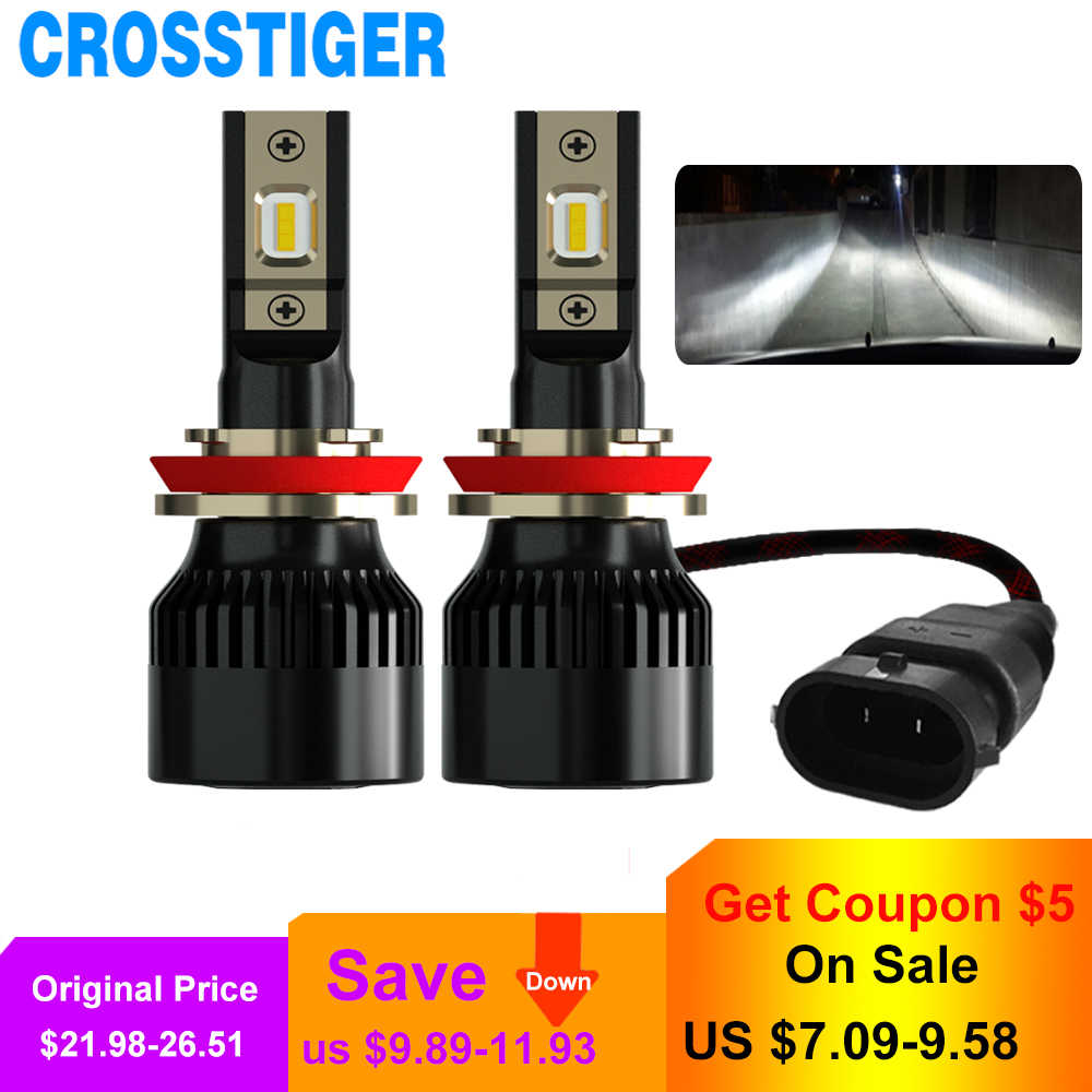 H7 LED Car Headlight Kit LED H4 H1 H11 H3 H13 H27 880 9005 9006 Headlamp Accessories Auto Light Bulbs For Cars 12V 6000K