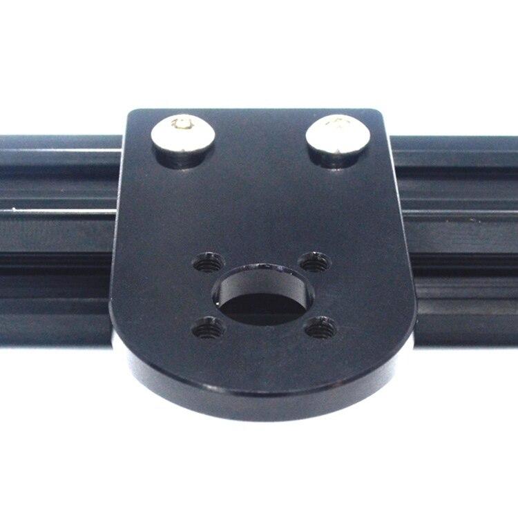 3D Printer Parts Accessories Black / Silver,T8 Screw Nut Holder / Bracket for 2020 2040 Aluminum Profile