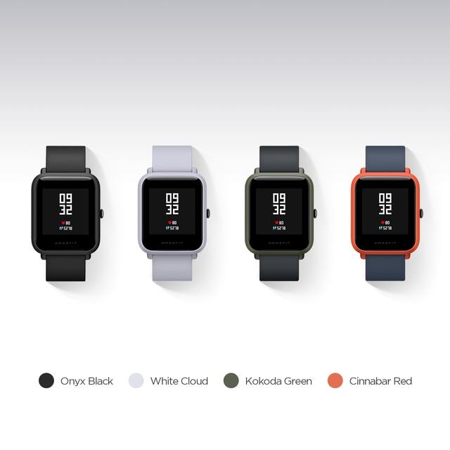 Huami Amazfit Bip Smart Watch Bluetooth GPS Sport Heart Rate Monitor IP68 Waterproof Call Reminder MiFit APP Alarm Vibration 1