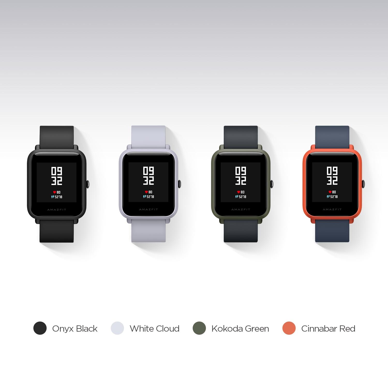 Huami Amazfit Bip montre intelligente Bluetooth GPS Sport moniteur de fréquence cardiaque IP68 étanche rappel d'appel MiFit APP alarme Vibration - 2