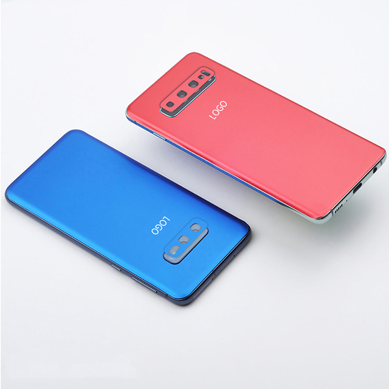 luxury Matte dust-proof Case For Samsung <font><b>Galaxy</b></font> <font><b>s10</b></font> case S9 S8 Plus Note 8 9 Full Coverage Bumper Phone Back Cover Case <font><b>Sticker</b></font> image