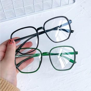 Ramki okularów damskie okulary anty-niebieskie męskie okulary komputerowe okulary do gier przezroczyste ramki okularów kwadratowe czarne okulary tanie i dobre opinie CN (pochodzenie) Z tworzywa sztucznego Unisex YMT363 59mm 55mm