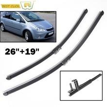 Misima pára-brisas lâminas de limpador para ford c-max mk1 2003 - 2010 2009 2008 2007 2006 2005 2004 limpador da janela dianteira