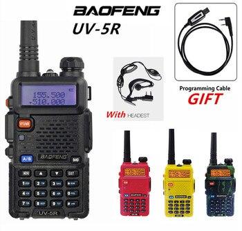 Powerful Baofeng UV-5R Walkie Talkie VHF UHF Transceiver Dual Band Two Way Radio