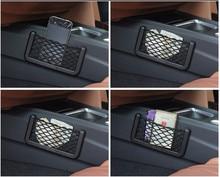 Авто-Стайлинг Универсальный сетчатый карман сумка для хранения мобильных телефонов телефон мусорный мешок для fiat punto abarth 500 stilo ducato palio bravo ...