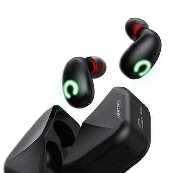 Whizzer B6 IPX7 Wasserdichte Upgrade TWS Kopfhörer Drahtlose Ohrhörer Bluetooth 5,0 Unterstützung Aptx/AAC 80h Spielen TimeFor xiaomi huawei