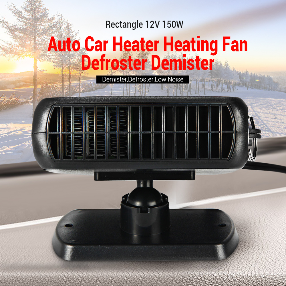 12V Portable Auto Heater Heating Fan Car Dryer Windshield Demister Defroster US