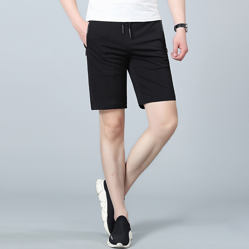Thin Sports Shorts Men Quick-Dry Shorts Plus-sized Breathable Quick-Dry Fat Lard-bucket Beach Shorts Summer