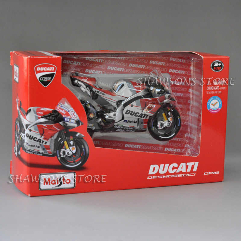 1:18 مقياس دييكاست نموذج دراجة نارية اللعب Maisto Ducati Desmosedici GP18 الرياضة سباق الدراجة نسخة مصغرة
