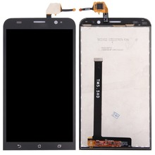 High quality For Asus ZenFone 2 ZE550 / ZE550ML LCD Screen and Digitizer Full Assembly high quality for asus zenfone 3 ze552kl lcd screen and digitizer full assembly
