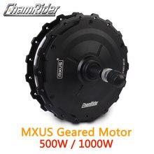 Мотор колесо для электровелосипеда 1000 Вт, мотор ступица 500 Вт, мотор колесо для электровелосипеда MXUS XF19R, задний мотор, мощный водонепроницаемый разъем