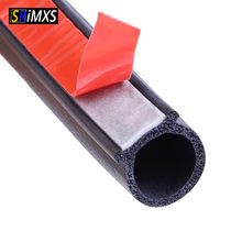 Rubber Door Seal Strip Big D Type Car Door Seal Strip Universal Noise Insulation Epdm Car Rubber Waterproof Seals For Auto(China)