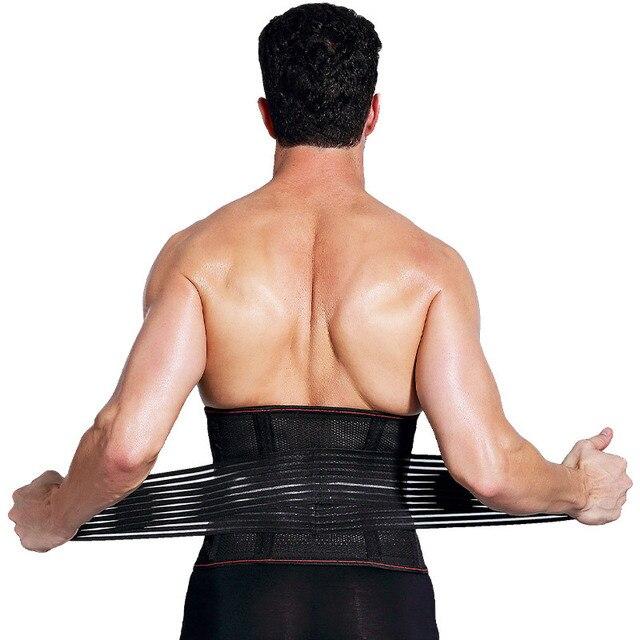 New Arrived Man Polyester Waist Cinchers Plus Size Shapewear Body Shaper Sweat Slimming Belt Fitness Corset Control Tummy Girdle 1
