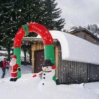 Inflatable Arch Santa Claus Snowman Christmas Outdoors Ornaments Home Shop Decor Christmas Decorations For Home Новый Год 30