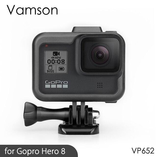 Vamson für Gopro Hero 8 Rahmen Fall Grenze Schutzhülle Gehäuse für Go pro Hero 8 schutz Zubehör VP652