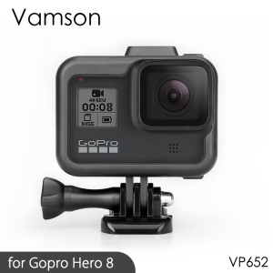 Image 1 - Vamson for Gopro Hero 8 Frame Case Border Protective Cover Housing Mount Base for Go pro Hero 8 protection Accessory VP652