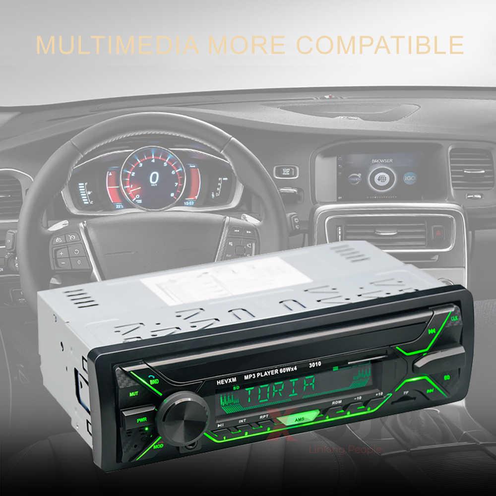 Essgoo 1din autoradio autoradio Audio lecteur MP3 automobile multifonction Bluetooth véhicule USB sans fil 4x60W