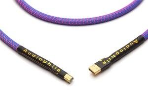 Image 4 - Hi Cấp QED OCC Mạ Bạc Âm Thanh USB Cáp Dữ Liệu USB Cáp Đắc USB HiFi Cáp A B Cáp USB