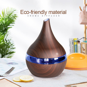 300ml USB Electric Aroma air diffuser wood Ultrasonic air humidifier Essential oil Aromatherapy cool mist maker for home spa