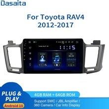 Android 10,0 Auto Radio 1 Din für Toyota RAV4 multimedia 2012   2018 autoradio RAV 4 2Din DSP HD IPS 1280*740 Carplay 4Gb + 64Gb