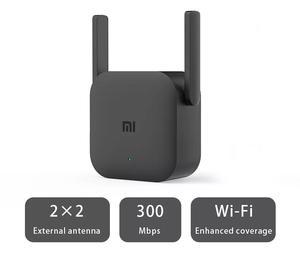 Image 2 - Oryginalny Xiaomi Mi WiFi Repeater Pro US Plug 300M wzmacniacz sieciowy ekspander Router Extender Roteador 2 antena