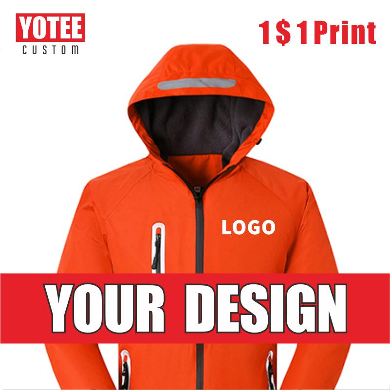 YOTEE winter high quality thick windbreaker company group custom LOGO custom down jacket men and women tops