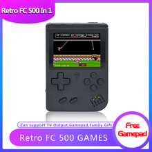 ANBERNIC FC168 Handheld Game Console 168 Games Video Game TV Output Mini Portable 8 Bit Retro Game Consola Gift Gamepad