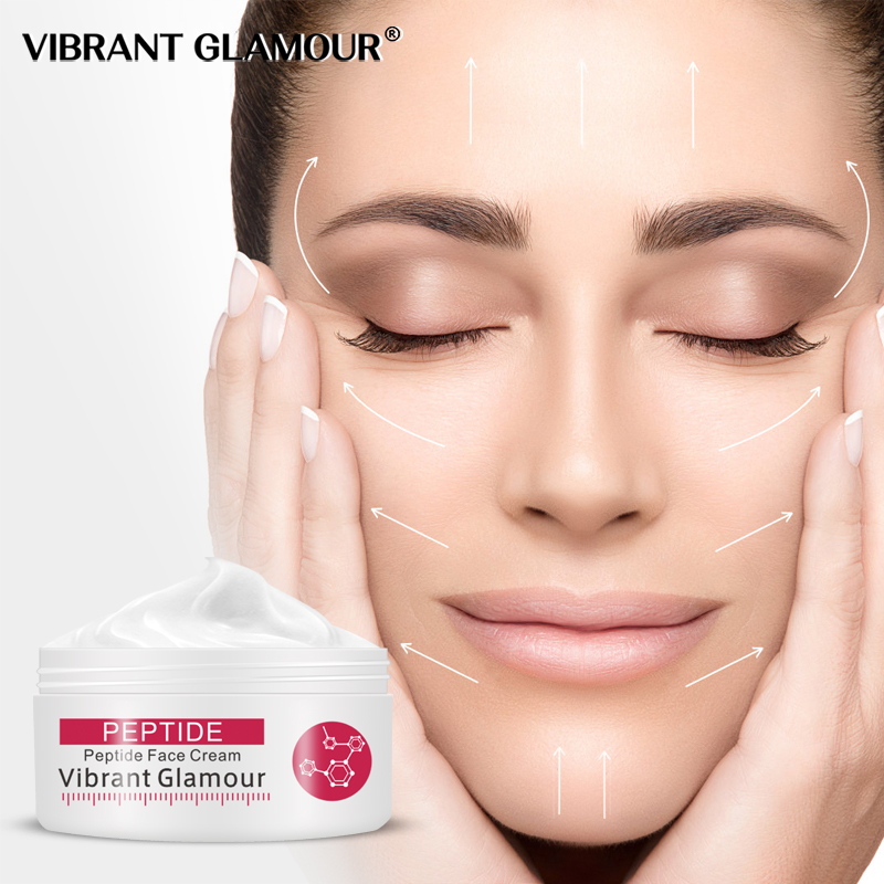 VIBRANT GLAMOUR Argireline Pure Collagen Face Cream Anti Aging wrinkle Firming Anti Acne Whitening Moisturizing for women 30g image