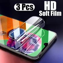 3 sztuk hydrożel Film dla Huawei P20 P30 Lite Pro Screen Protector dla Huawei P smart 2018 Z Y6 2019 miękka folia Mate 20 nie szkło tanie tanio Kupem Jasne CN (pochodzenie) P20 Pro P20 Lite Mate 20 Pro P30 Pro For Huawei P20 For Huawei P20 Lite For Huawei P20 Pro