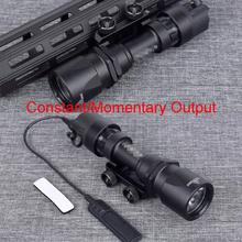 Tactical M951 Weapon Scout Lights LED Version Super Bright Hunting Flashlight With Remote Pressure Switch Fits M4 M16 Hunting remote pressure switch scout weapon light tail dual button outdoor hunting led flashlight peq 16a m3x accessories wne04040