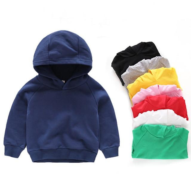 Kids Hoodies for Girls Children's Sweatshirt Child  Sportswear 1