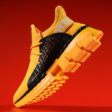Men's Fashion Sneakers New Thick Bottom Trend Kly-knit Shoes