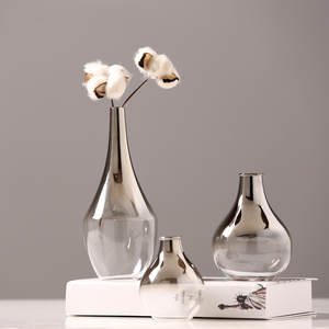 O.roselif Flower Glass Decoration Plant-Holder Terrarium-Jewelry Vase Creative Gradient