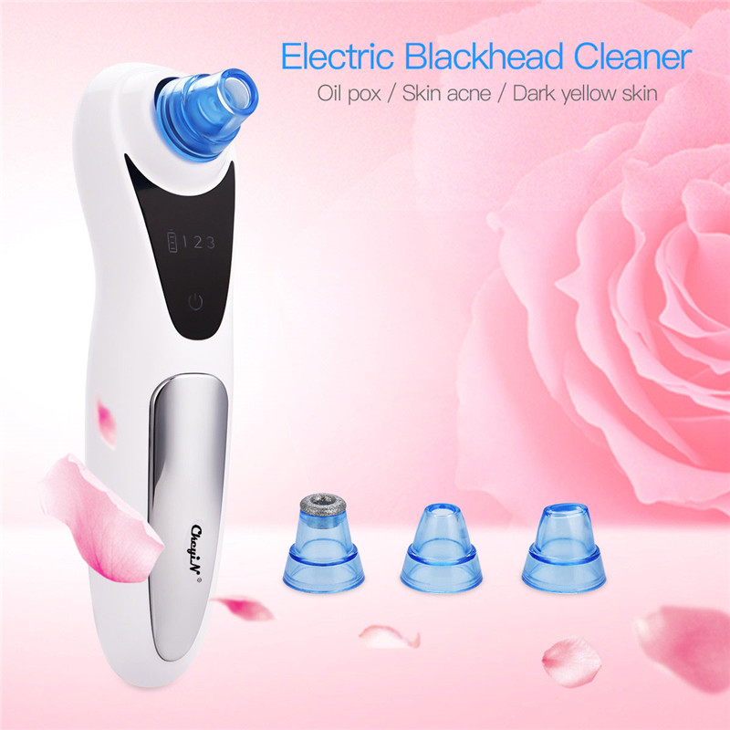 Blackhead Skin Care Face Deep Pore Acne Pimple Removal Vacuum Suction Facial Diamond Beauty Tool Dropshipping Discounted Price40