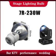 חמה מכירות 1PCS 7R 230W מתכת הליד מנורת נע קרן מנורת 230 קרן 230 סיריוס HRI230W עבור שלב תאורה תוצרת סין