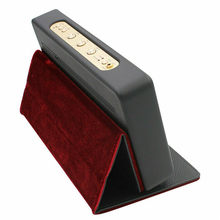 Speaker Stand Foldable Standable Case Cover for Marshall Stockwell Spleaker BT Black Leather Guitar-inspired Soundbar Cases(China)