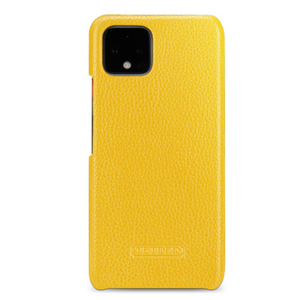Image 4 - Capa protetora para smartphones, case protetor, couro genuíno, para google pixel 4, google pixel, 4xl escudo de proteção