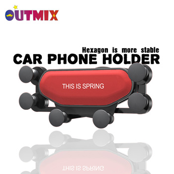 Universal Car Phone Holder Suitable for car vents No Magnetic Mobile Holder Suitable for all mobile phones Holder Xiaomi Huawei creative f1 racing car style adjustable support holder for mobile phones green