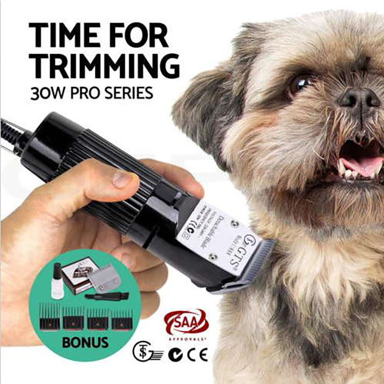 Pet Liefert Low Noise Schnell Ladung Elektrische Professional Dog Haar Trimmer Hundesalon Haar Clipper Hund Rasierer Pet Haar Clipper - 2