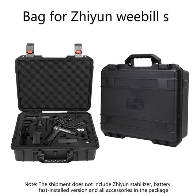 אחסון תיק מזוודת פיצוץ הוכחה תיבת נרתיק עבור Zhiyun Weebill S ערכת PTZ